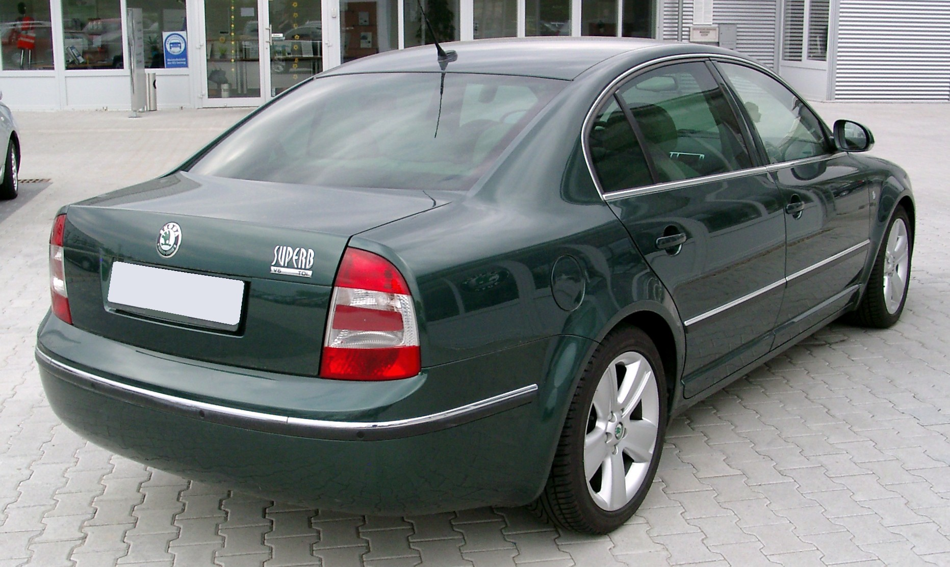 skoda superb b5 first generation