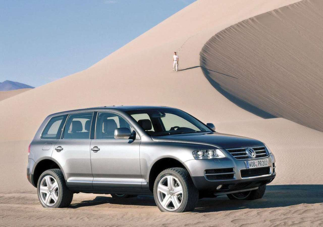vw touareg first generation