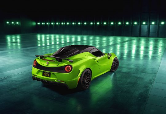 Pogea Racing Alfa Romeo 4C Centurion 007 – The Green Arrow