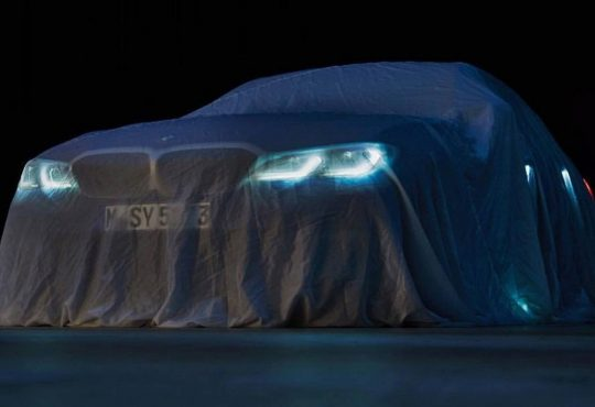 bmw series 3 teaser