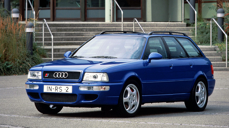 1994 Audi RS2; top car design rating and specifications