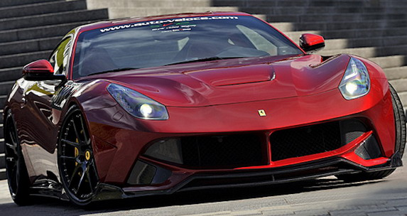Super Veloce Racing Ferrari F12