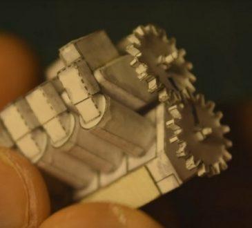 papirni v8 motor