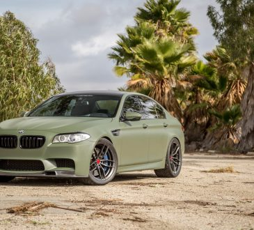 BMW M5 Military Green