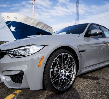 Nardo Grey BMW M3 Competition Package
