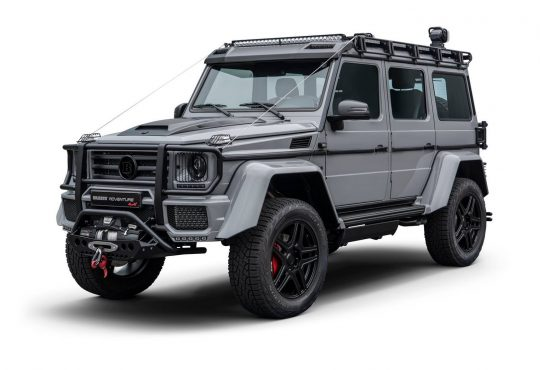 Mercedes-Benz G500 4x4² Adventure Brabus
