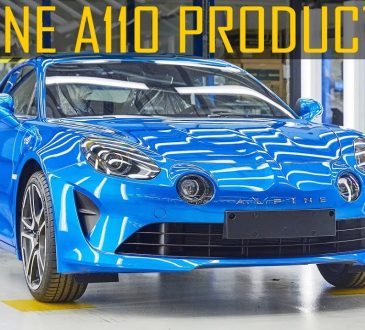 alpine a110 production