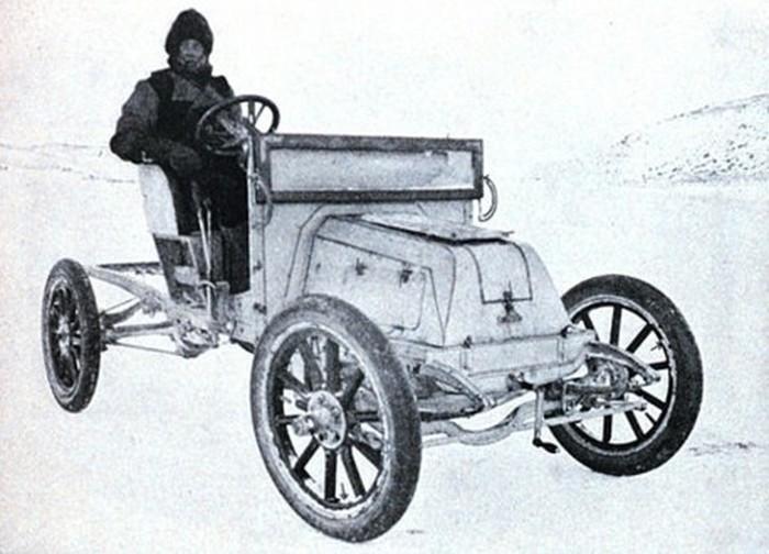 Prvi automobil na Antarktiku - Arrol Johnston