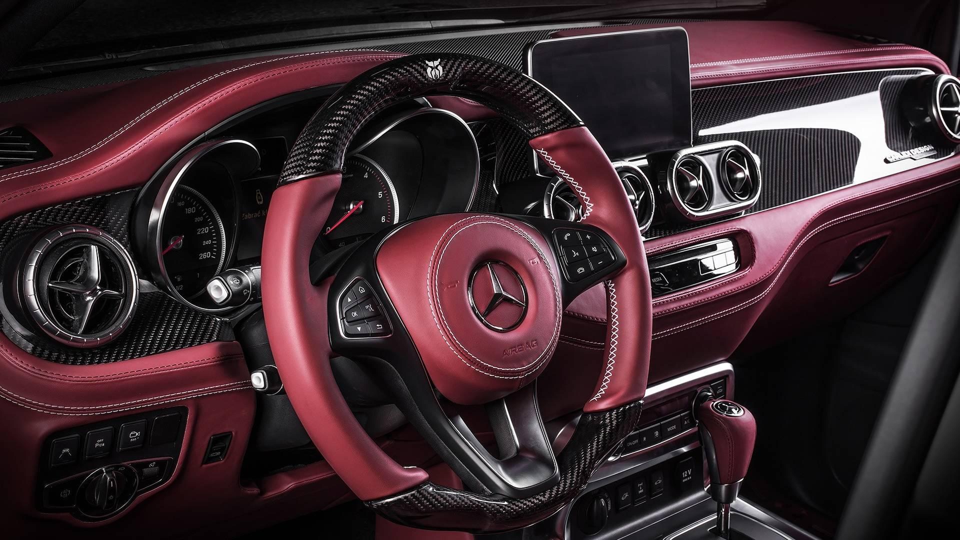 Carlex Design Mercedes X klase Exy