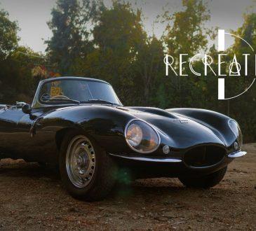 jaguar xkss recreation