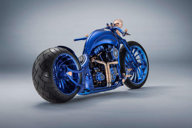 Bucherer Harley-Davidson Blue Edition