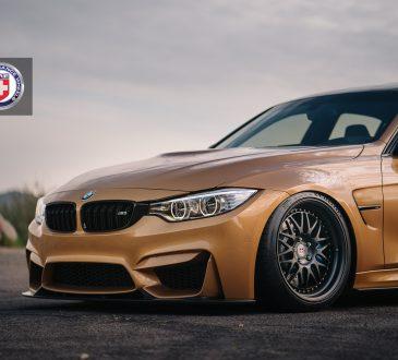 Sunburst Gold Metallic BMW M3