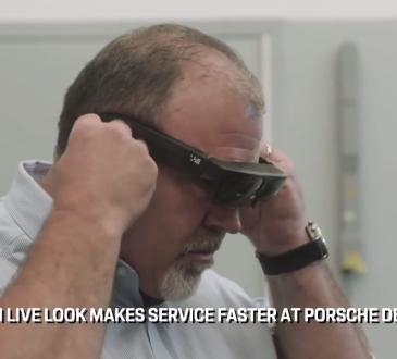 porsche smart glasses