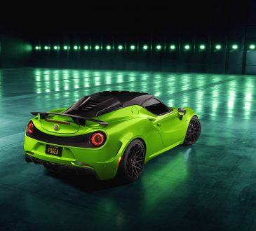 Pogea Racing Alfa Romeo 4C Centurion 007 – The Green Arrow