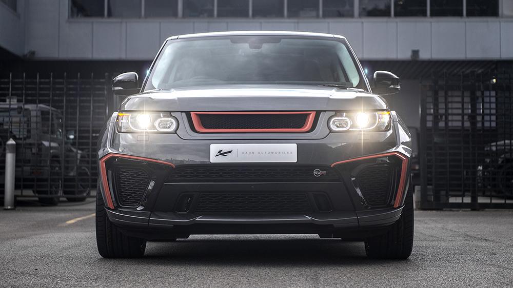 Range Rover Sport 5.0 V8 Supercharged SVR Pace Car
