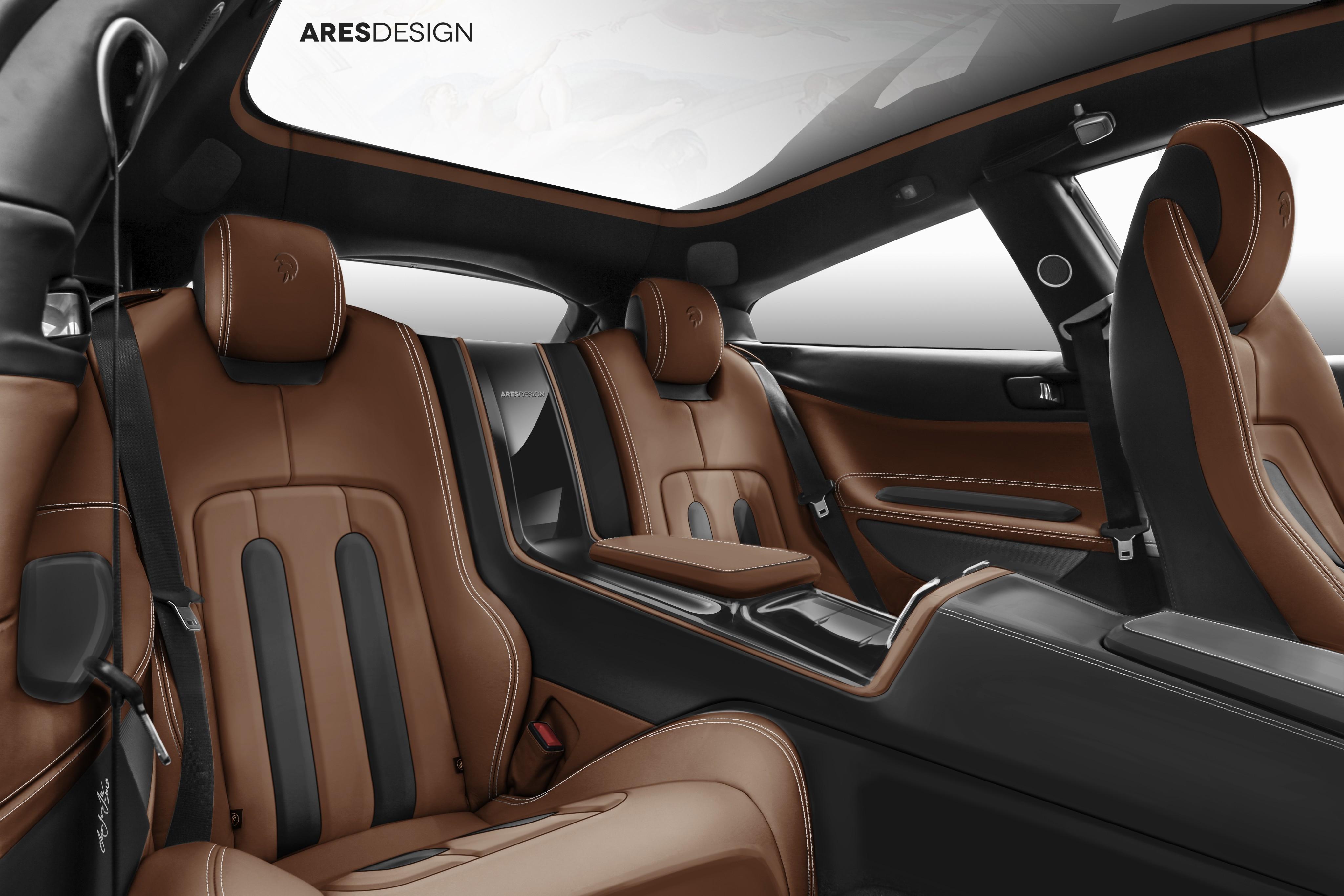 Ares Design Project Pony Ferrari 412