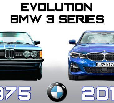 bmw serija 3 evolucija