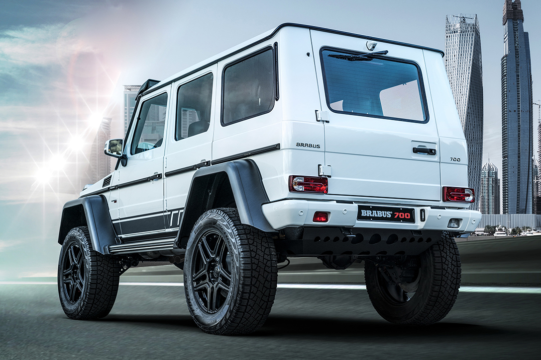 """Brabus 700 4×4² """"one of ten"""" Final Edition"""