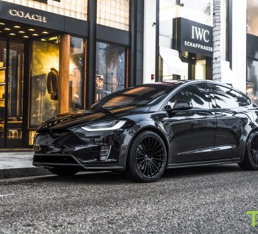 T Sportline Tesla Model X P100D Wide Body