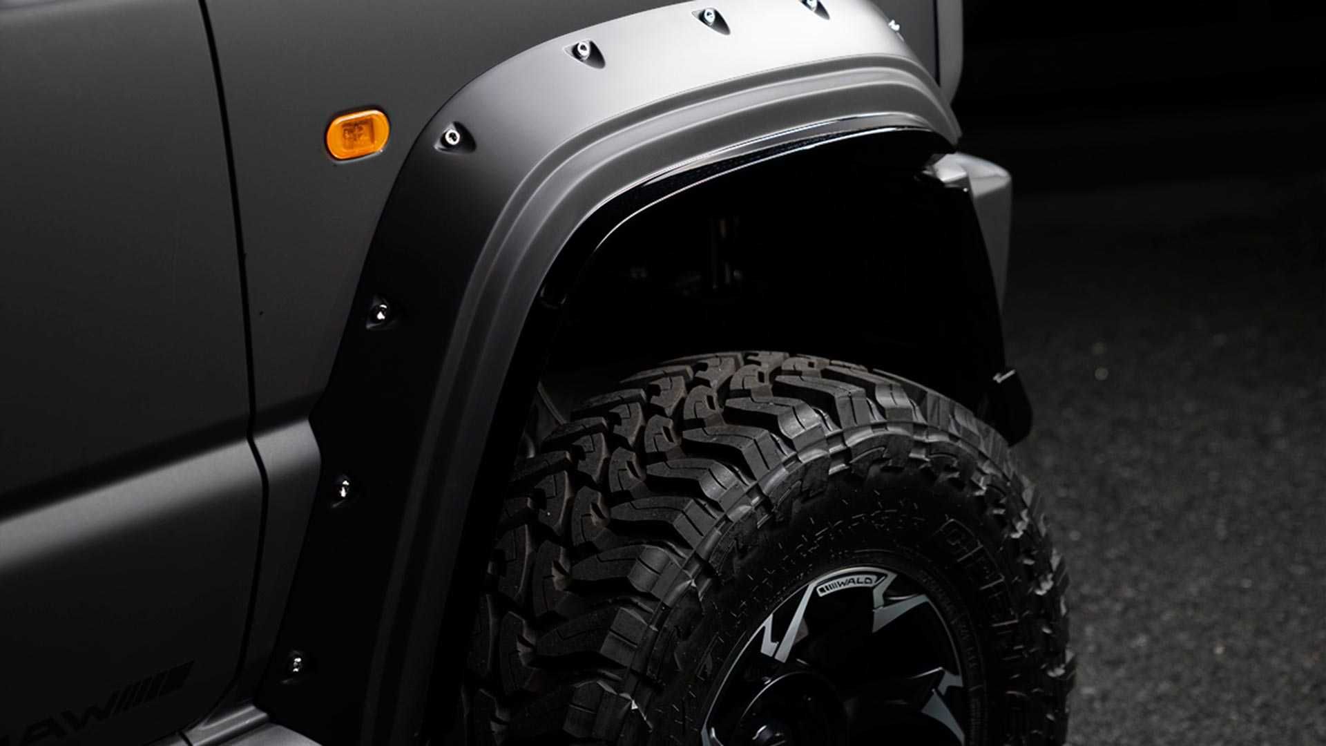 Black Bison Wald International Suzuki Jimny