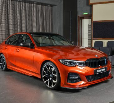 BMW 330i M Sport Sunset Orange