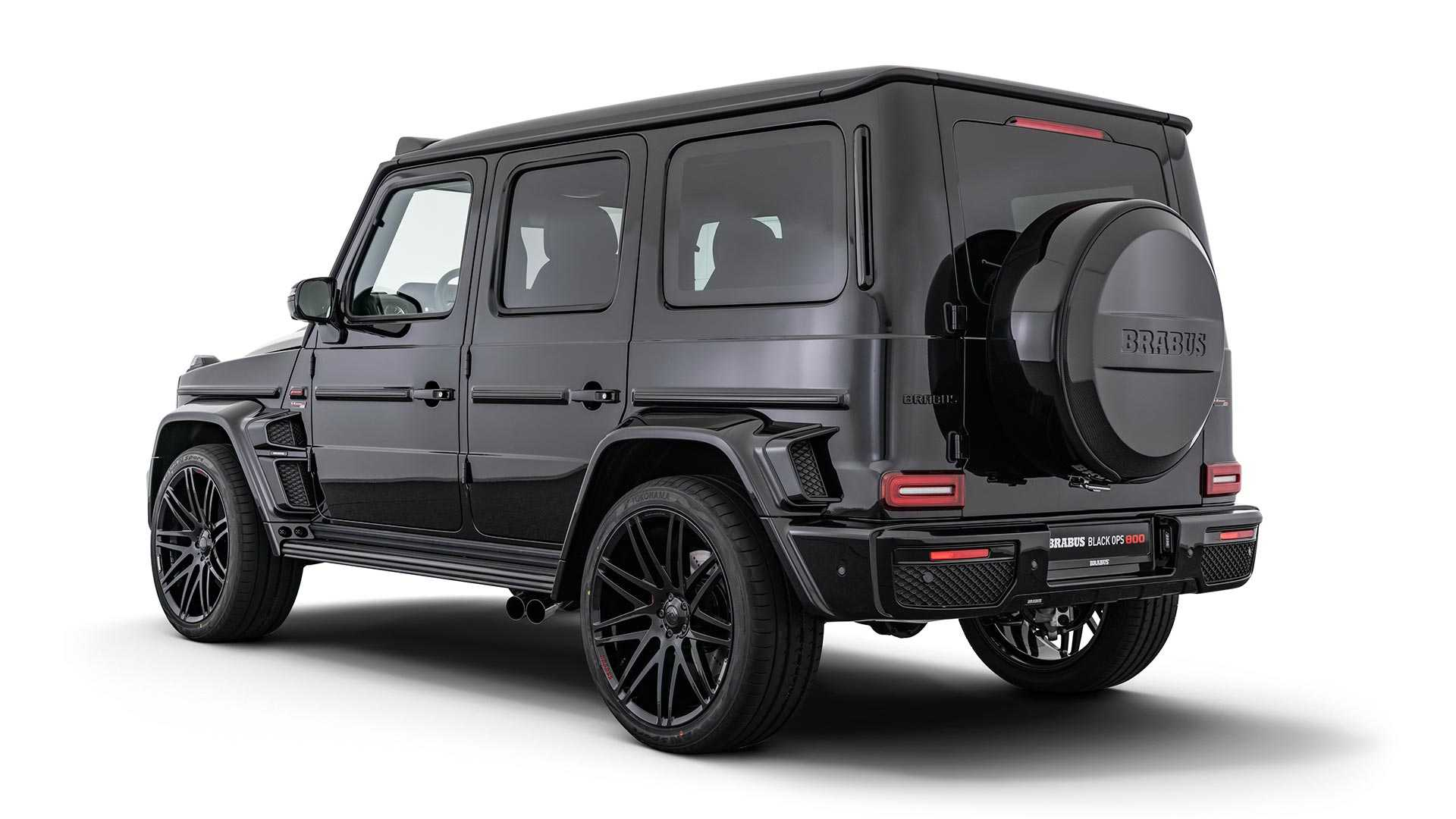 Brabus Mercedes-AMG G63 Black OPS