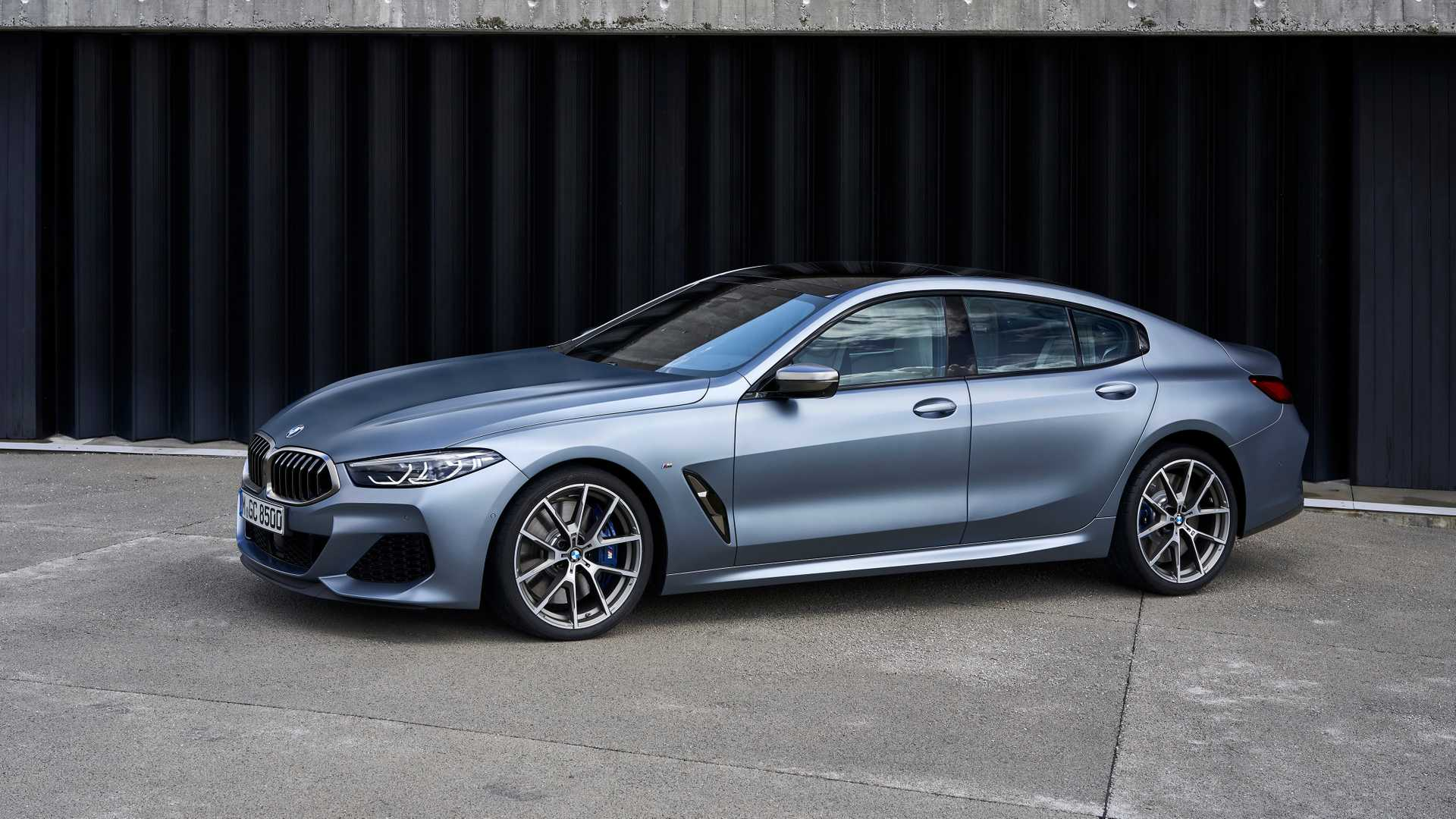 bmw series 8 gran coupe