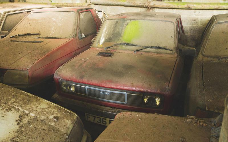 kolekcija od 70 skoda automobila