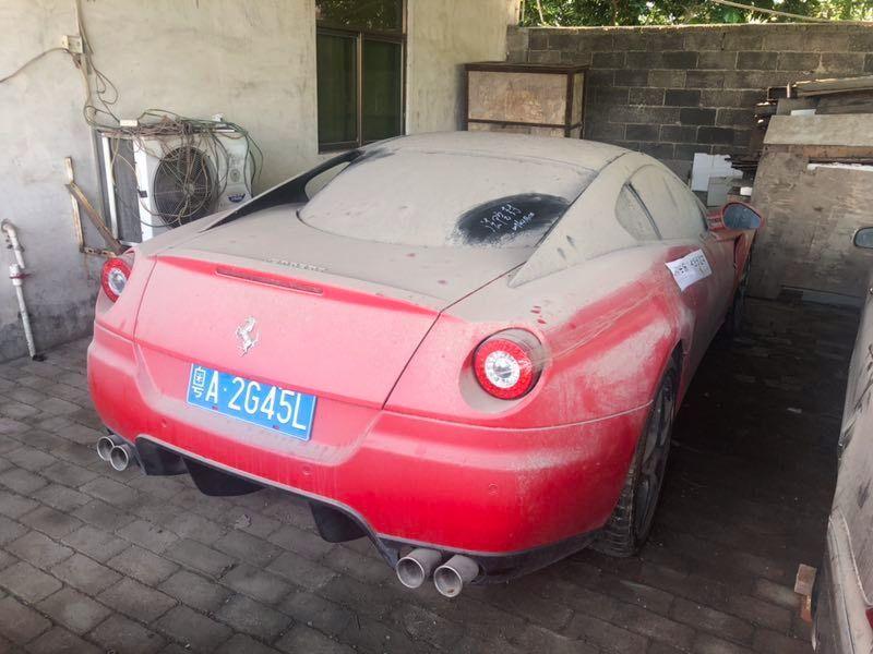 Ferrari 599 GTB za 250 dolara