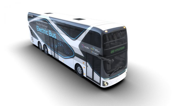 hyundai doubledecker electric bus