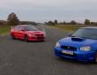 Subaru WRX STI vs Mitsubishi EVO 9