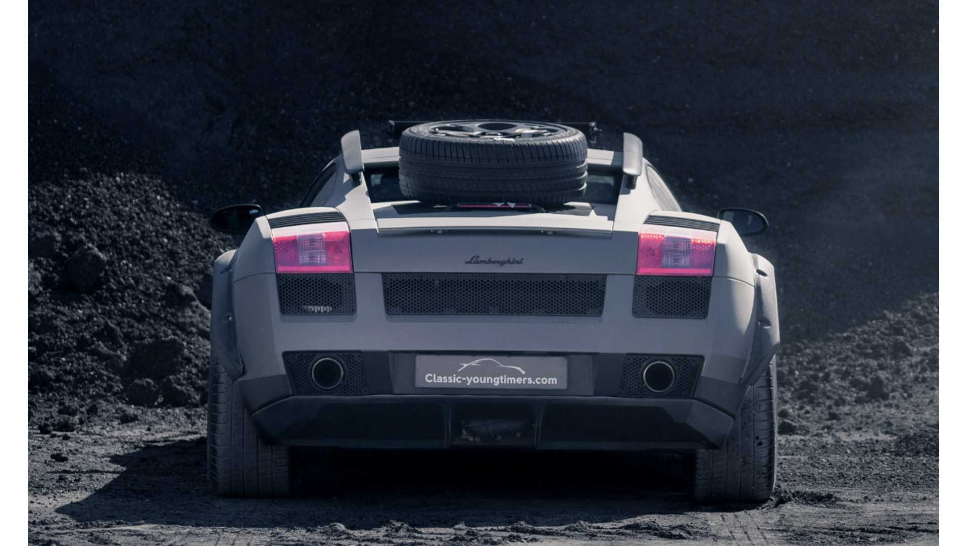 lamborghini gallardo off-road