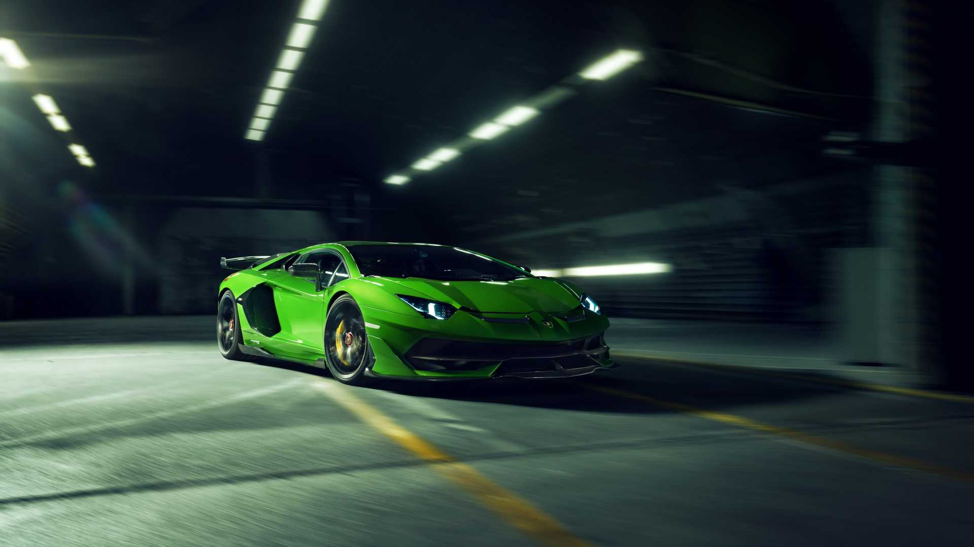 Novitec Lamborghini Aventador SVJ